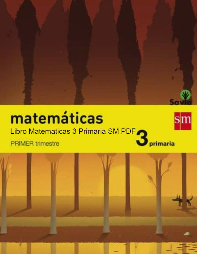 Libro Matematicas 3 Primaria SM SAVIA PDF