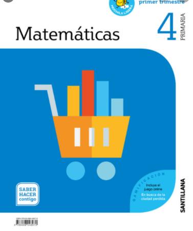 Libro Matematicas 4 Primaria Santillana PDF