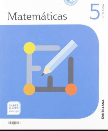 Libro Matematicas 5 Primaria Santillana Pdf Saber Hacer