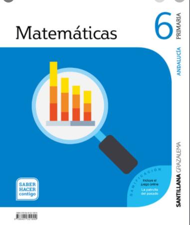 Libro Matematicas 6 Primaria Santillana PDF